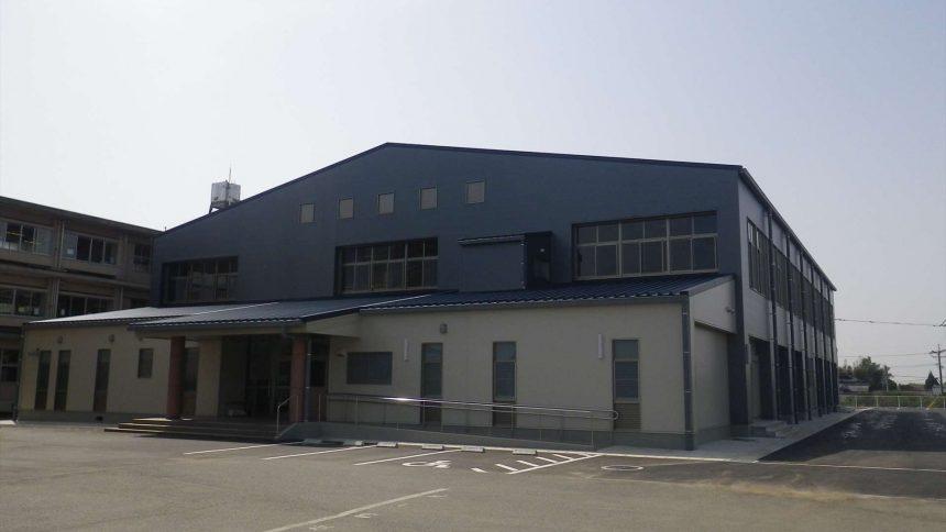 玉南中学校体育館建築工事