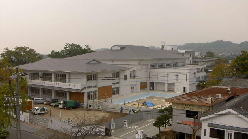 菊池高校体育施設棟改築工事