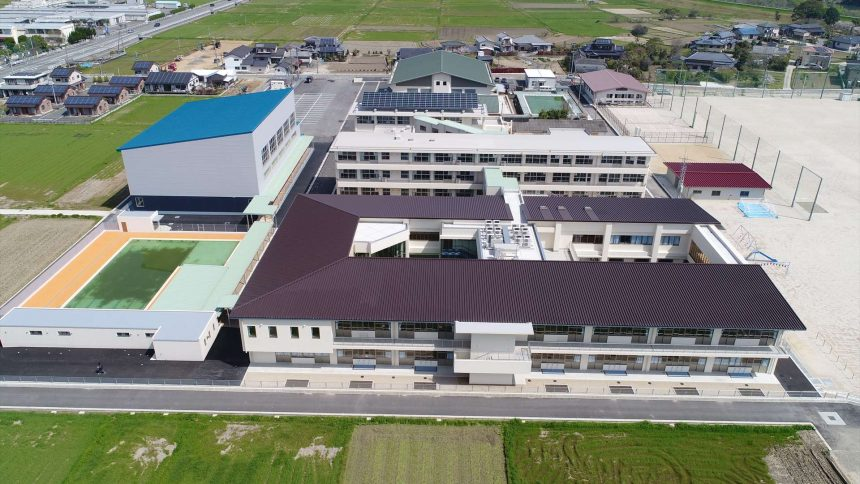 玉陵小学校校舎新築及び玉陵中学校校舎改修工事
