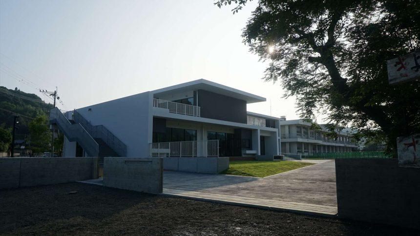 菊水区域小学校統合事業 菊水中央小学校校舎増築工事